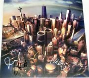 Foo Fighters Hand Signed Autographed Sonic Highways Album By All 5 W/proof+coa