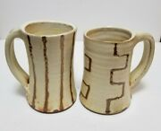 Studio Handcrafted & Decorated Handmade Ceramic Mugs - NC Potter Courtney Martin