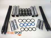 Harley Twin Cam 99 - 15 Adjustable Pushrods And Push Rod Covers And Lifters New