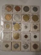 100 Metal Tokens And Medals And More -collectible - Metal - Find Your Treasures - 1