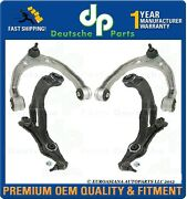 Vw Touareg Front Lh + Rh Upper + Lower Control Arms Ball Joints Bushings Set 4pc