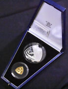 1996 Bermuda Triangle Gold And Silver Poof 2 Coin Set In Case And Coa