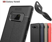10pcs Soft Tpu Leather Grain Shockproof Cover Case For Iphone Samsung Note20 Lg