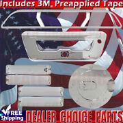 2015-2017 Ford F150 Chrome Door Handle Covers+gas+tailgate+brakelightsee Notes