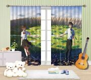 3d Two Worlds 771 Blockout Photo Curtain Print Curtains Drapes Fabric Window Us