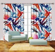 3d Squid Birds 79 Blockout Photo Print Curtains Drapes Fabric Window Us Carly