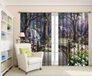 3d Forest Elves 7 Blockout Photo Print Curtains Drapes Fabric Window Us Carly