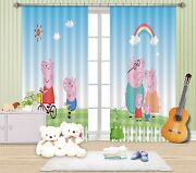 3d Piggy Meadow 756 Blockout Photo Print Curtains Drapes Fabric Window Us Carly