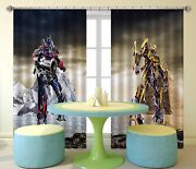 3d Robot Paint 98 Blockout Photo Print Curtains Drapes Fabric Window Us Carly