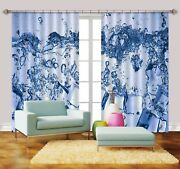 3d Water Drops 778 Blockout Photo Print Curtains Drapes Fabric Window Us Carly