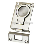 4pcs Marine Boat Pull Ring Latch Flush Ring Catch 316 Stainless Steel