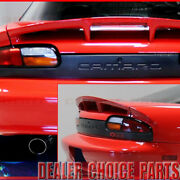 1993-98 1999 2000 2001 2002 Chevrolet Camaro Ss Factory Style Wing W/l Unpainted