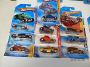 Hot Wheels Rods And Customs Set Of 11