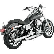New Vance And Hines Vance And Hines Twin Slash 3in. Slip-ons Chrome 16837
