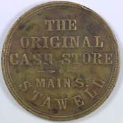 Australia Circa 1860s 'crothers And Co.' Penny Token Renniks 95. Very Fine