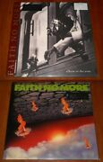 Faith No More 2x Lp 180g Audiophile Vinyl Lot Album Of The Year And Real Thing New