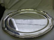 Vintage Extra Large Sanborn Sterling Silver Tray 2289.45 Grams 17x24