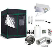 5and039 X 5and039 Grow Tent Kit 400w/600w/1000w Hps Mh Reflector Fan+carbon Filter Combo