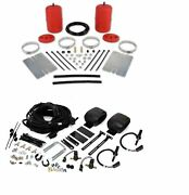 Air Lift Control Air Spring And Leveling Dual Path Kit For Jeep Wrangler