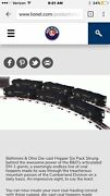 Lionel Nib 6 36927 B And O Die Cast Hopper 6pack -hard To Find- 100th Anniversary