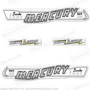 Mercury 1957 30hp Mark 30 Outboard Decal Kit - Electric - Reproduction Decals