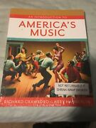 An Introduction To Americaand039s Music By Richard Crawford And Larry Hamberlin...