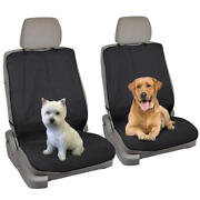 Waterproof Front Seat Covers For Pets Dogs Cat Gym Work Outdoors - 2pc