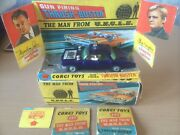 Man From Uncle Toy Car Collectable Oldsmobile Super 88 By Corgi.