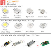 High Power 10w 20w 30w 50w 100w Led Smd Chip Cob Lamp Driver Constant Current