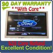 2013 - 2015 Ford F250 F350 Oem 8 Sync Radio Information Touch Screen Display