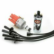 Pertronix Vw Ignition Kit With Ignitor Distributor Chrome Coil Black Wires