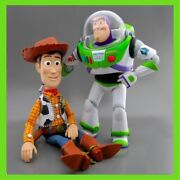 Brand New Disney Toy Story Talking Woody Buzz Lightyear Action Figure Doll Loose