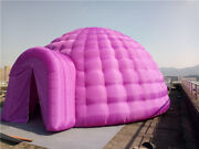 Inflatable Family Camping Recreation Dome Igloo Tent Custom Colors Brand New
