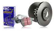 Ebc Front And Rear Brake Discs And Pads Dodge Usa Challenger 6.1 2008 11