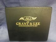 The Grant And Lee Commemorative Coin Stamp Set Brother Against Brother