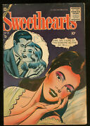 Sweethearts 29 4.0 Vg 1st To Use Comics Code Authority Seal 1955 Charlton