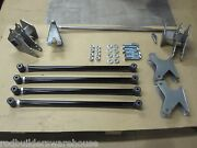 Weld On Universal Parallel 4 Link Suspension And Panhard Bar Kit. Made Here In Usa