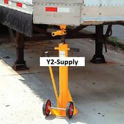 New Standard Duty Trailer Stabilizing Jack Stand 100000 Lb. Static Capacity