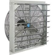 New Exhaust Ventilation Fan With Shutter 30 Single Speed With Hardware