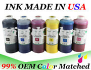 6 Liters Refill Ink For Hp83 C4940a C4941a C4942a C4943a C4944a C4945a For 5000