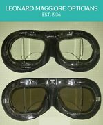 Halcyon Prescription Motorcycle-flying Stadium Goggles Custom Made To Order