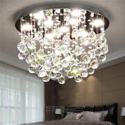 Led Crystal Pendant Ceiling Lamp Living Room Ceiling Lighting Ceiling Fixtures