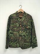 Rising Sun Jeans And Co. Camo Field Jacket Size Medium Nwt