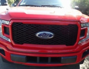 2018-2020 Ford F-150 Factory Oem Honeycomb Grille- Race Red Jl3z-8200-sk New