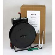 New Strapping Kit 1/2 X 5,800' Coil With Tensioner-sealer-seals And Cart