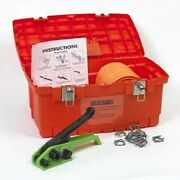 New Poly Cord Strapping Kit 3/4 250' Coil Wtensioner-buckles-windlass And Case