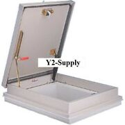 New Bilco Galvanized Roof Hatch For Curb Installation-36x30