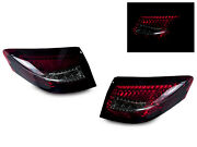 Red/smoke Led Tail Lamp Lights C4s For 996 911 Carrera 4s Turbo Widebody Gt2 Gt3