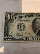 1934 A 10 Federal Reserve Star Note