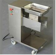 Stainless Steel Meat Cutter Cutting Meat Machine Removable 500kg/hour 1 Cutti Bh